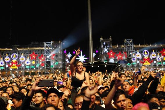 el festival internacional de musica del mundo que reunio a artistas nacionales e internacionales recibio a unas 180 mil personas en el zocalo de 10
