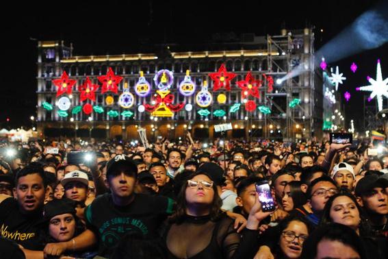 el festival internacional de musica del mundo que reunio a artistas nacionales e internacionales recibio a unas 180 mil personas en el zocalo de 11