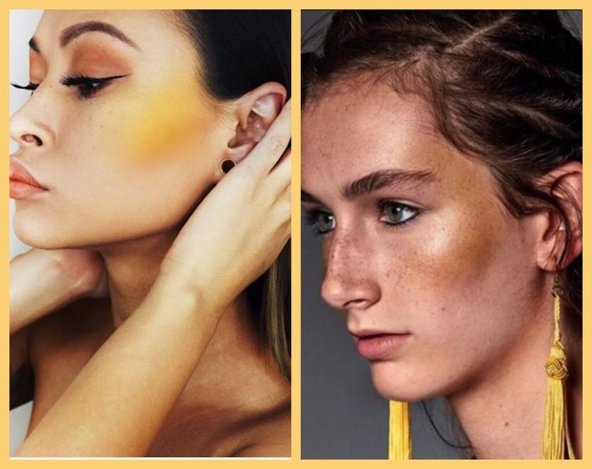Amarillo: el blush que debes usar si ya te aburriste del iluminador y del bronzer 2