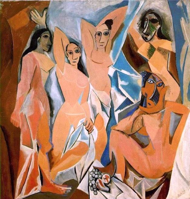 ITS, placer y muerte: interpretaciones de 'Las señoritas de Avignon' de Picasso 4