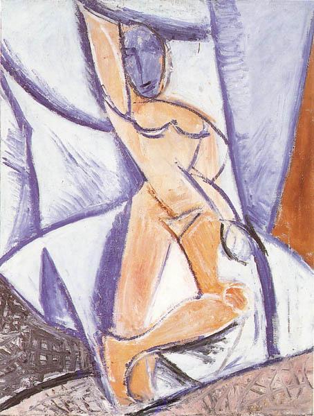 ITS, placer y muerte: interpretaciones de 'Las señoritas de Avignon' de Picasso 1
