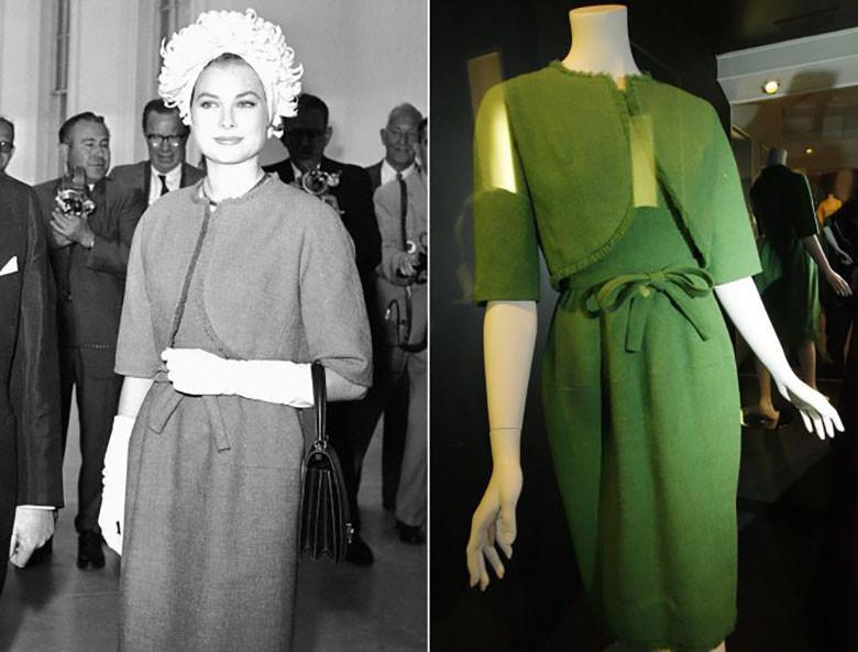 Los mejores diseños de Hubert de Givenchy grace kellu