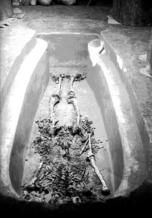 20 fotografías del descubrimiento de la tumba de Pakal, gobernante maya en Palenque 15