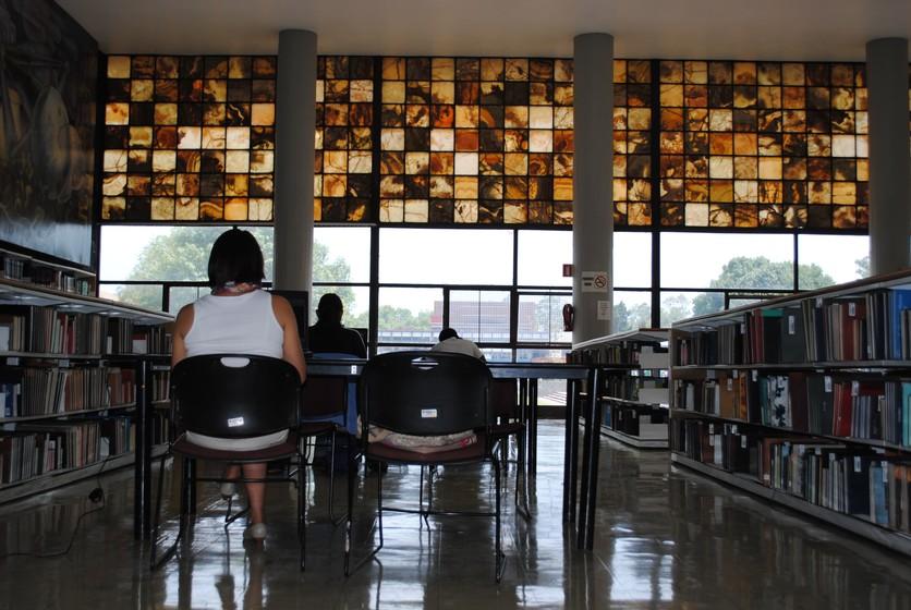 Biblioteca Central de UNAM interior