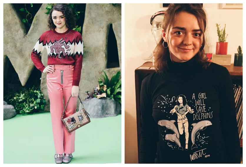 27 fotos de Maisie Williams que muestran que es la perfecta Arya Stark 10
