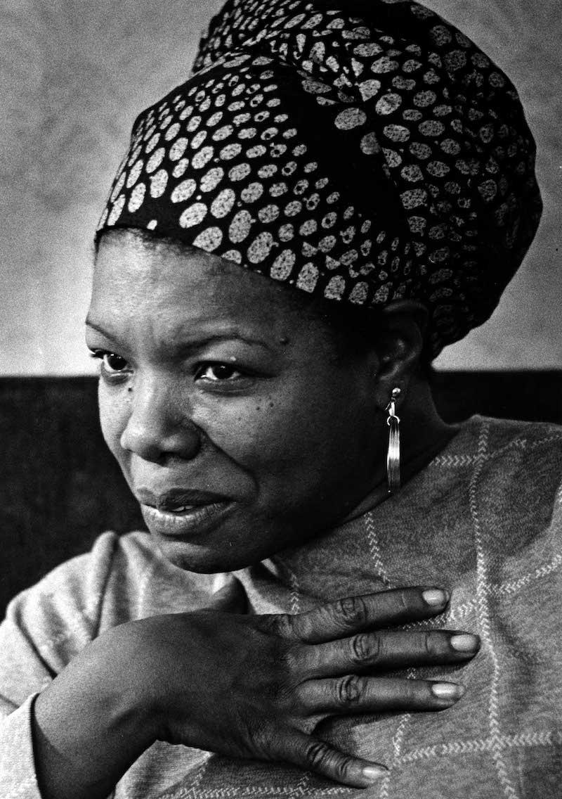 8 poemas de Maya Angelou, la mujer que luchó contra el racismo y la discriminación 1