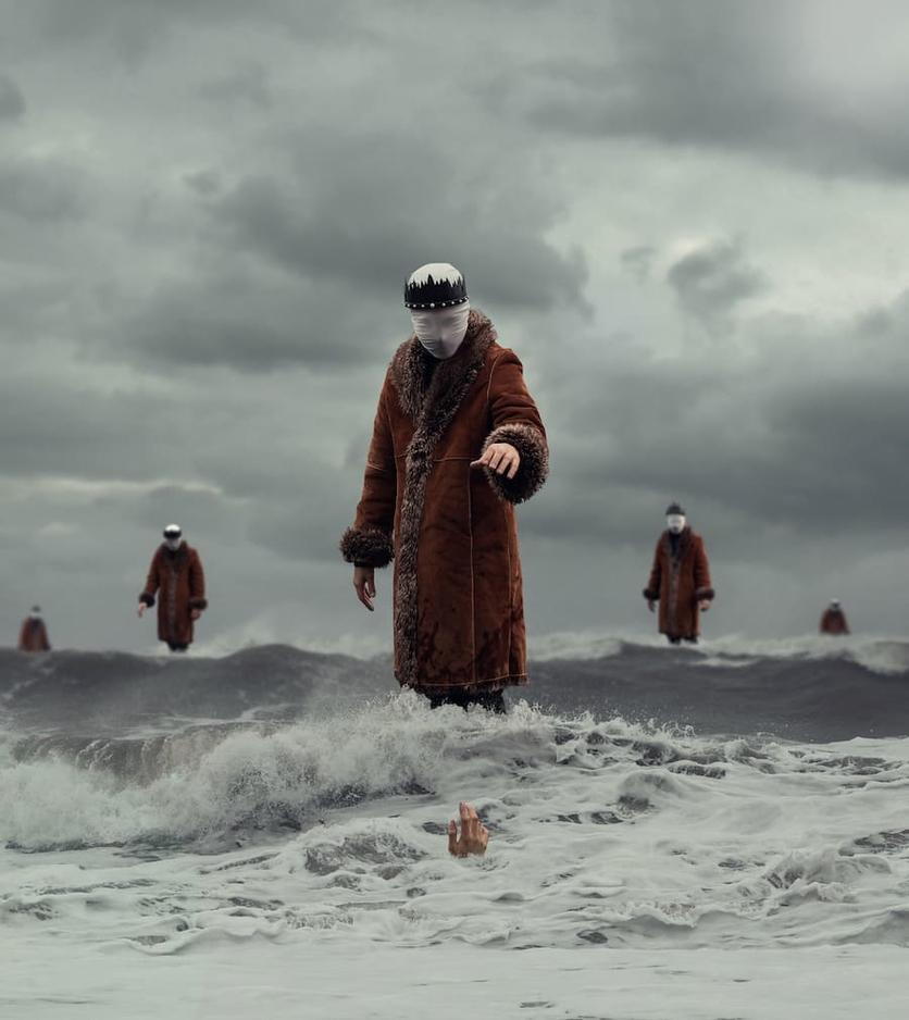 Fotografías surrealistas que delatan el lado más oscuro de nuestras almas  1