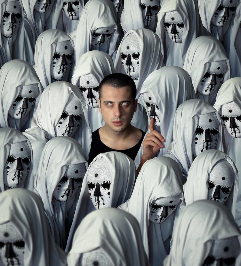 Fotografías surrealistas que delatan el lado más oscuro de nuestras almas  2