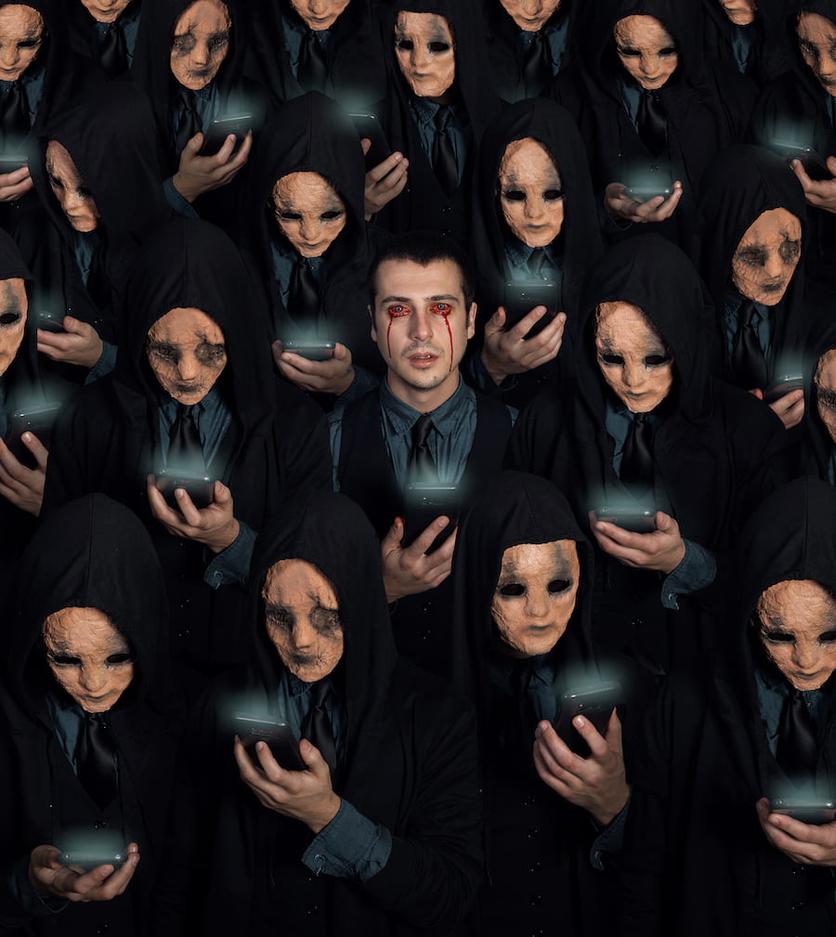 Fotografías surrealistas que delatan el lado más oscuro de nuestras almas  4