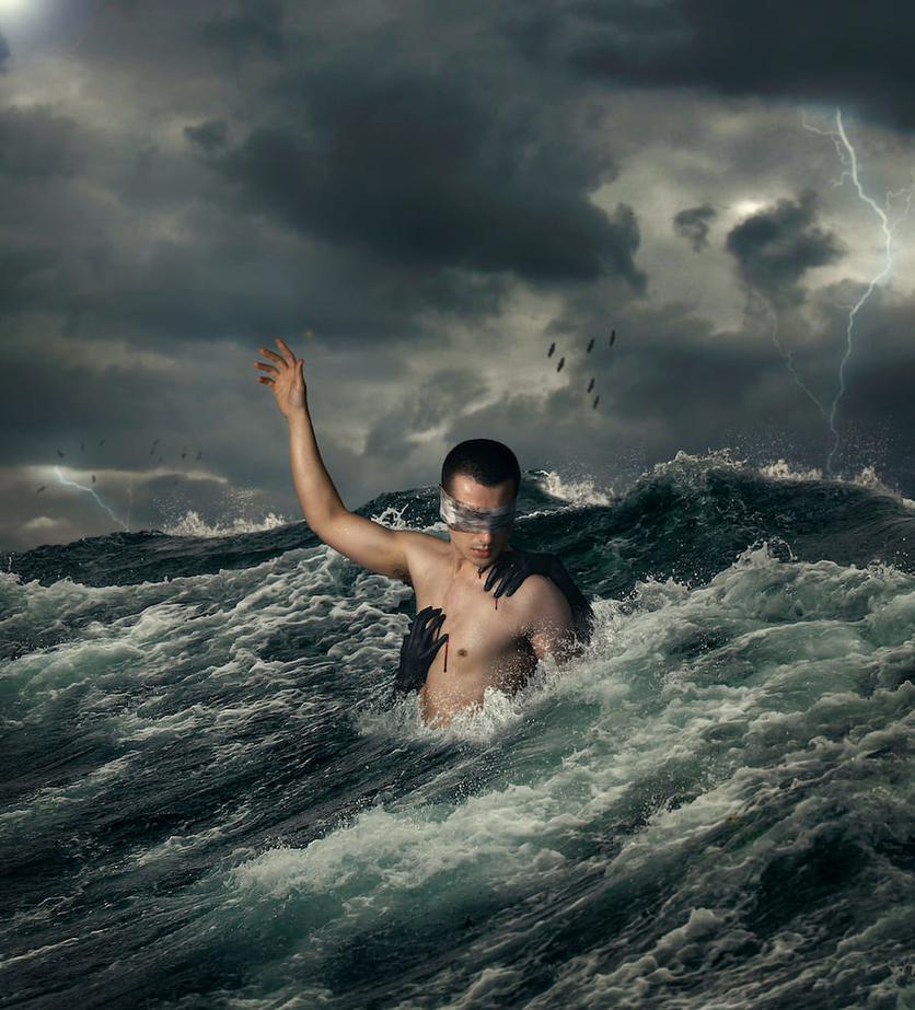 Fotografías surrealistas que delatan el lado más oscuro de nuestras almas  6