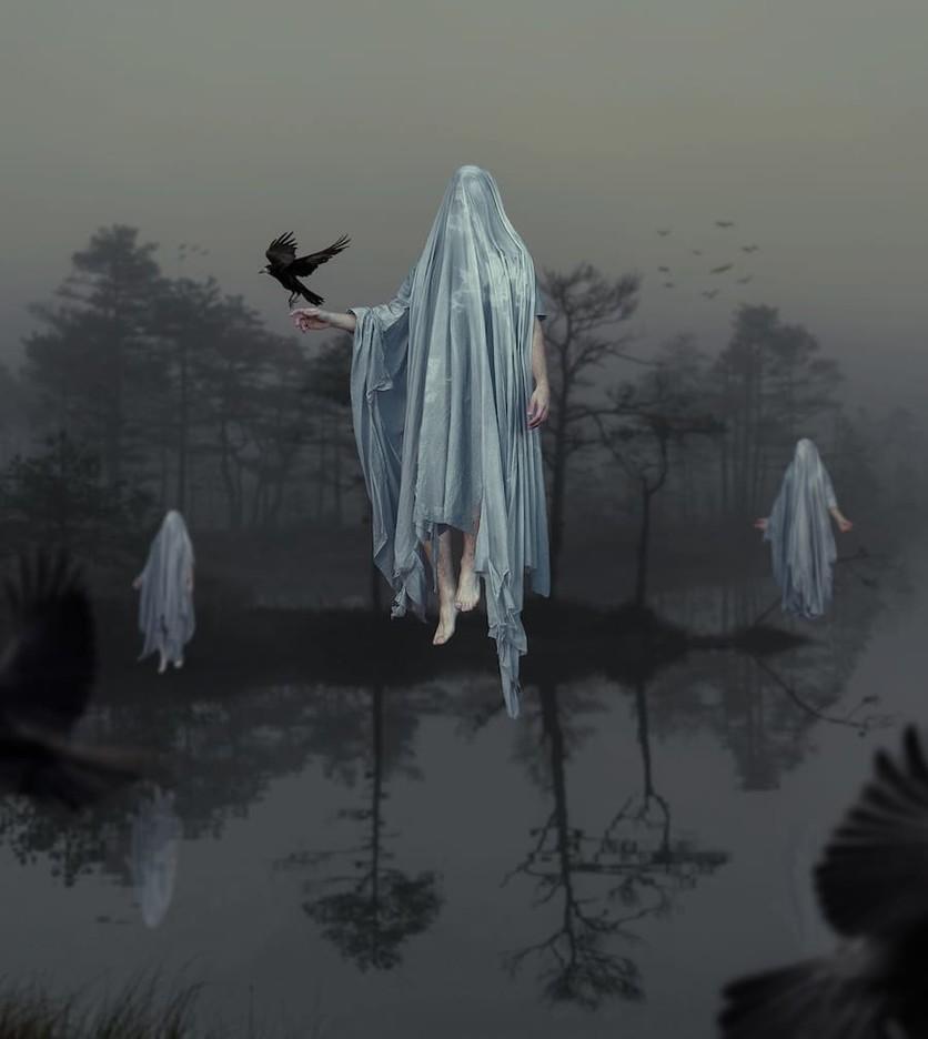 Fotografías surrealistas que delatan el lado más oscuro de nuestras almas  10