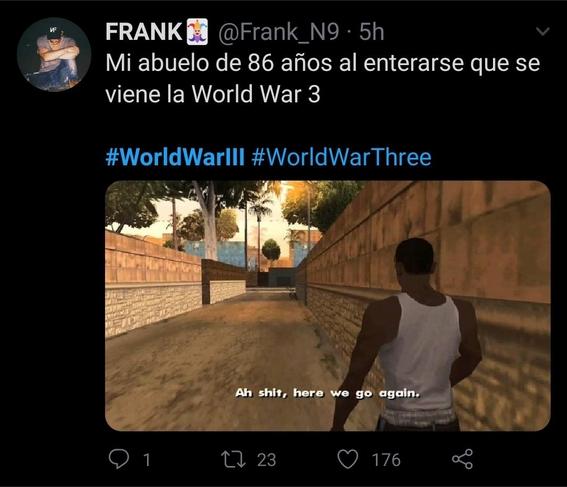 memes wwiii tercera guerra mundial guerra mundial 7