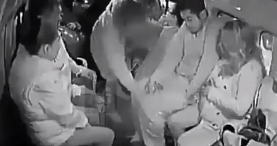 mujer se desmaya en una combi tras asalto en edomex 1