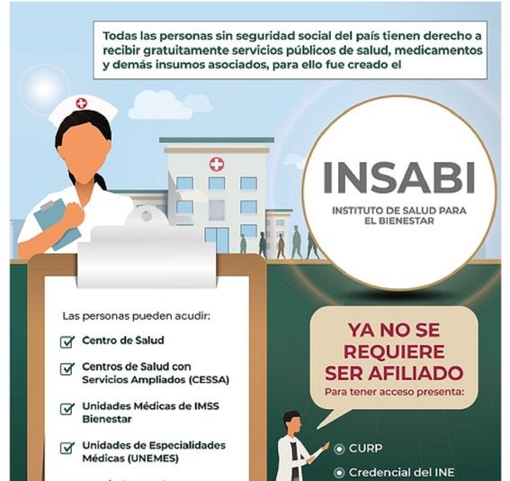 el instituto de salud para el bienestar es el programa social del gobierno de amlo que sustituyo al seguro popular 2020 2