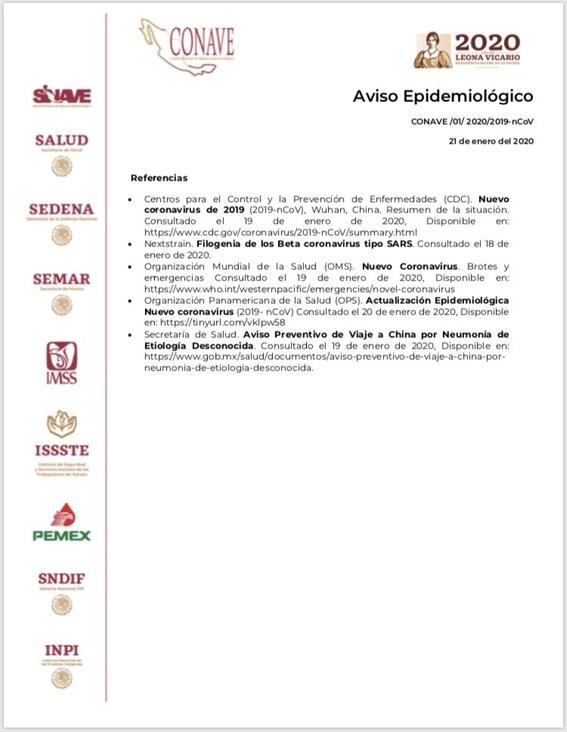 las autoridades de la cdmx permaneceran con un operativo de vigilancia y se declararon en alerta ante la posible presencia del coronavirus en el  4