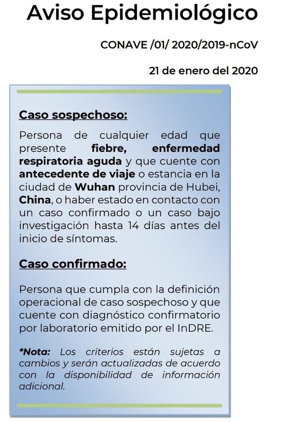 asi llego a mexico el posible primer caso de coronavirus 1