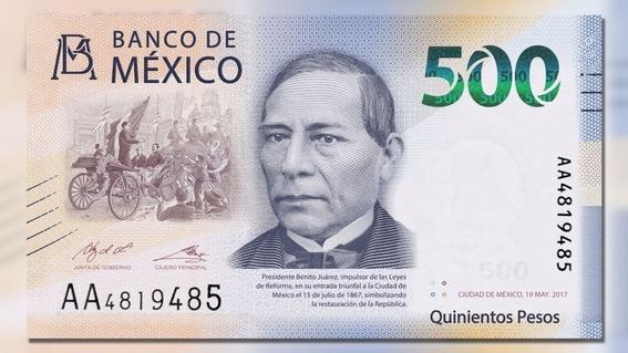 billete de 500 considerado el segundo mas bonito del mundo 1