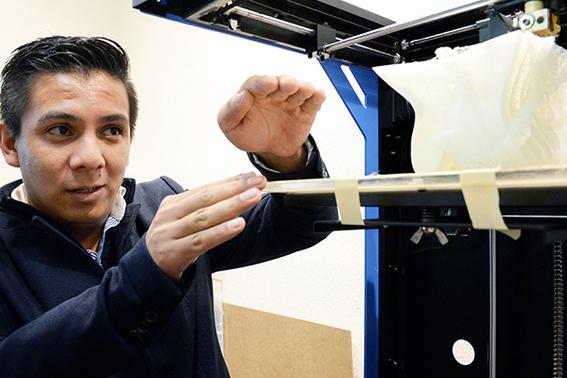 disena unam impresora 3d para replicar huesos con materiales biodegradables 2