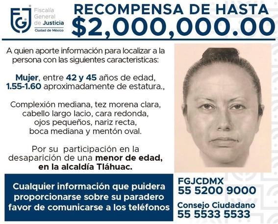 identifican identidad de mujer que secuestro a fatima 2