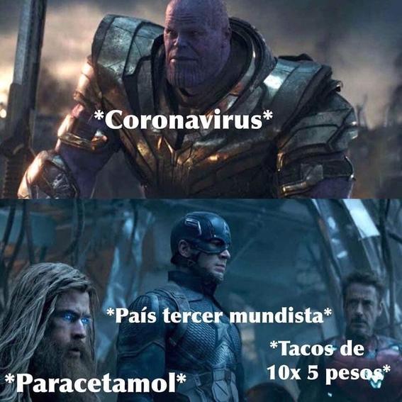 memes coronavirus en mexico 1