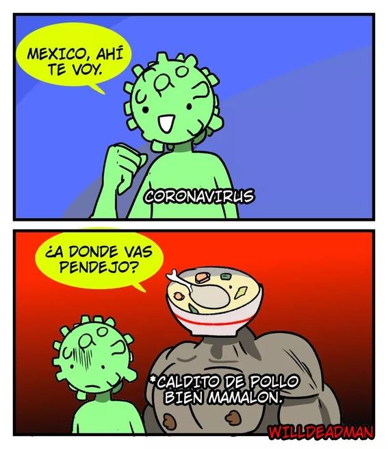 memes coronavirus en mexico 3