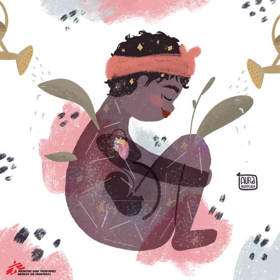 """12 artistas ilustran testimonios de mujeres que sobreviven a la violencia en """"mujeres sin fronteras nuestras luchas contadas por ilustradoras la 3"""