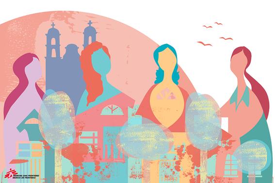 """12 artistas ilustran testimonios de mujeres que sobreviven a la violencia en """"mujeres sin fronteras nuestras luchas contadas por ilustradoras la 11"""