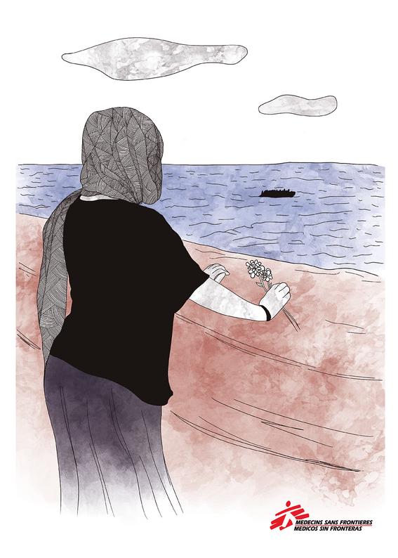 """12 artistas ilustran testimonios de mujeres que sobreviven a la violencia en """"mujeres sin fronteras nuestras luchas contadas por ilustradoras la 9"""