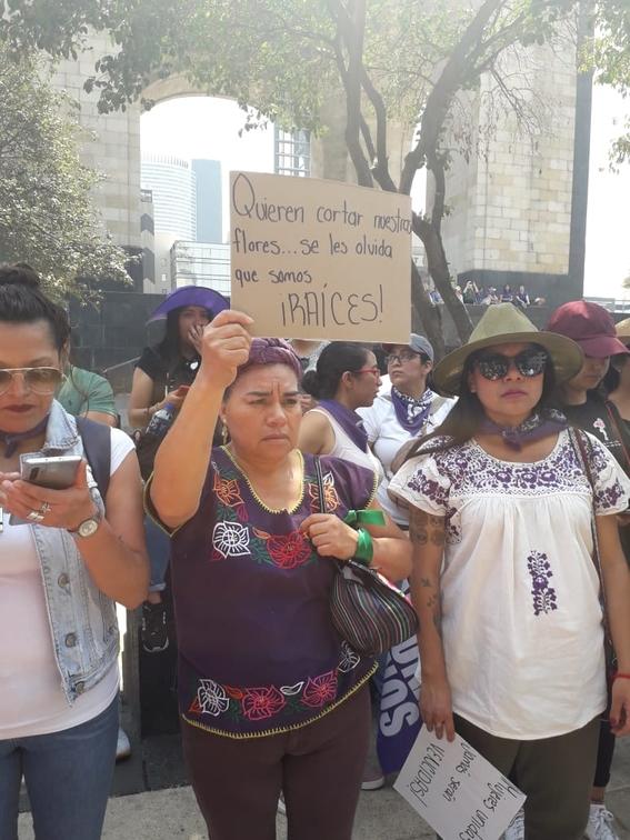 fotografias marcha dia de la mujer 8m 2