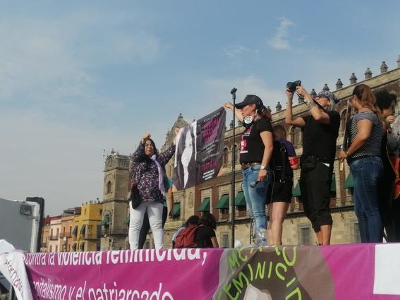 fotografias marcha dia de la mujer 8m 8