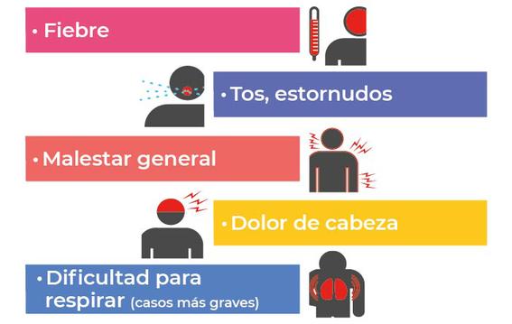 que hacer en caso de tener sintomas de coronavirus covid19 1