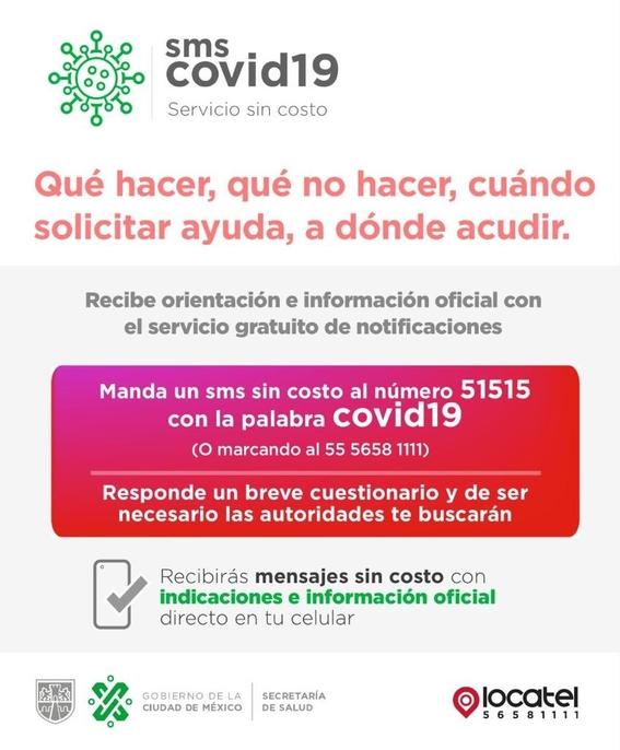 gobierno cdmx presenta sms covid19 1