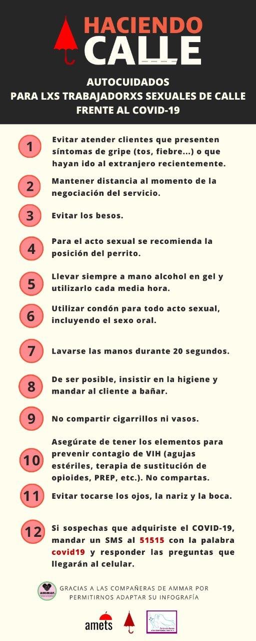 trabajadoras sexuales coronavirus covid19 2