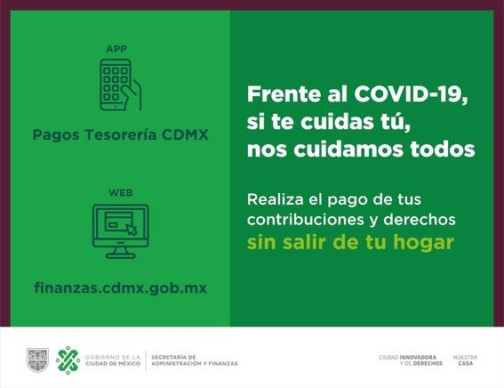 por coronavirus gobierno capitalino amplia prorrogas en pagos y descuentos 1