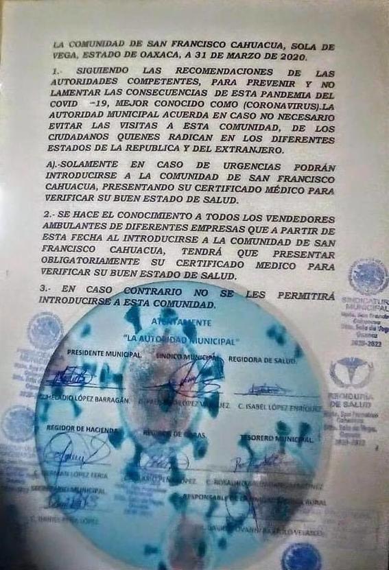 san francisco cahuacua ley seca oaxaca 2
