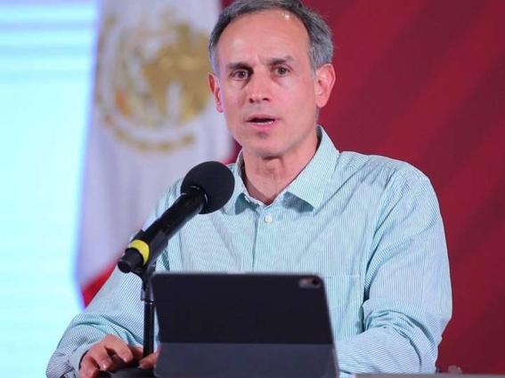 el subsecretario hugo lopezgatell  dijo que el pico maximo podria suscitarse entre la tercera semana de mayo y la primera de junio 1