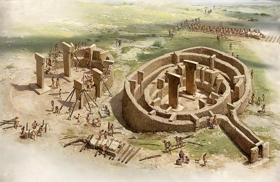 miles de anos antes de la invencion de la escritura o la rueda en el neolitico los constructores de göbekli tepe comprendian los principios geo 2