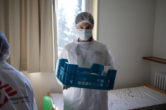 medicos sin fronteras muestran a traves de diferentes fotografias como es que hacen frente a la pandemia por covid en el mundo 10