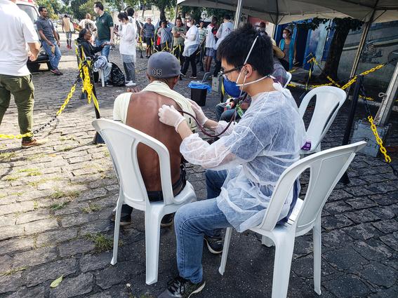 medicos sin fronteras muestran a traves de diferentes fotografias como es que hacen frente a la pandemia por covid en el mundo 3