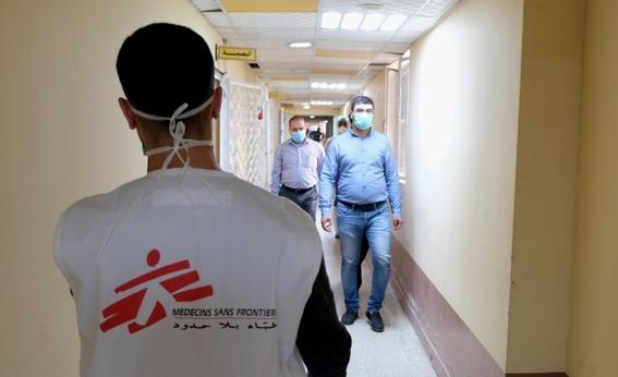 medicos sin fronteras muestran a traves de diferentes fotografias como es que hacen frente a la pandemia por covid en el mundo 9