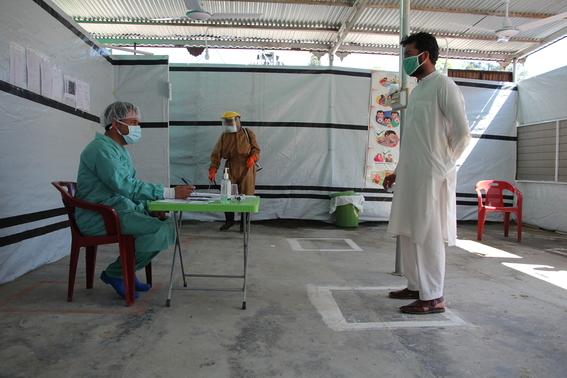 medicos sin fronteras muestran a traves de diferentes fotografias como es que hacen frente a la pandemia por covid en el mundo 11