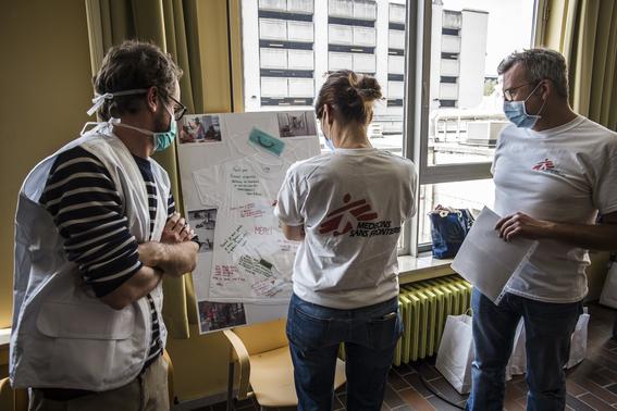 medicos sin fronteras muestran a traves de diferentes fotografias como es que hacen frente a la pandemia por covid en el mundo 14