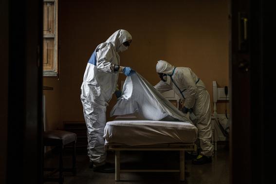 medicos sin fronteras muestran a traves de diferentes fotografias como es que hacen frente a la pandemia por covid en el mundo 15