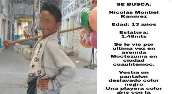 encuentran muerto a nico de 13 anos en ecatepec 1