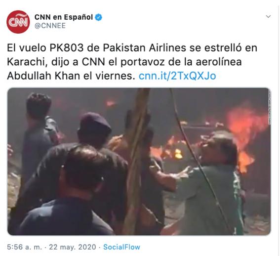 se estrella avion en pakistan con 107 personas a bordo 1