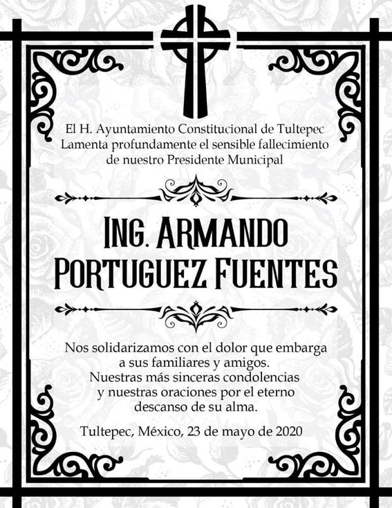 muere armando portuguez fuentes alcalde de tultepec 1
