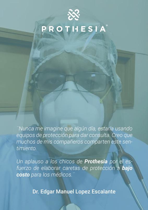 prothesia dona caretas para personal medico que lucha contra coronavirus 1