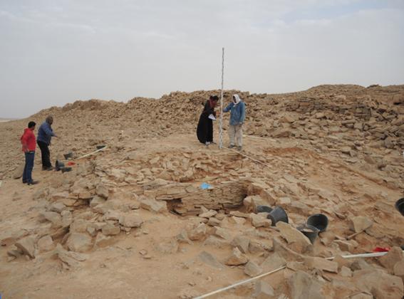una construccion de hace 8 mil anos hallada en un oasis de arabia saudi 1