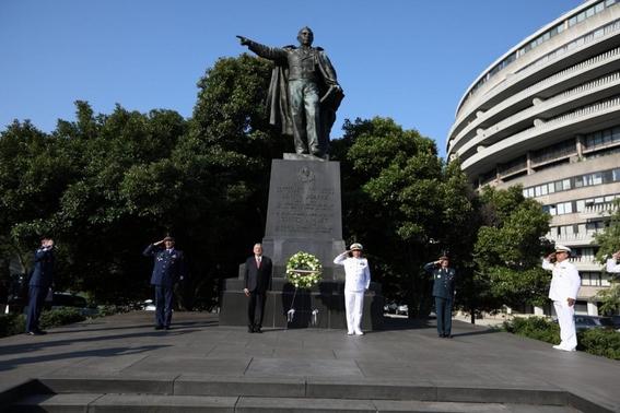 ¿por que hay una estatua de benito juarez en estados unidos 1
