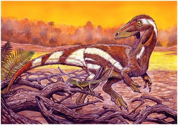 especie de dinosaurio desconocida brasil 1